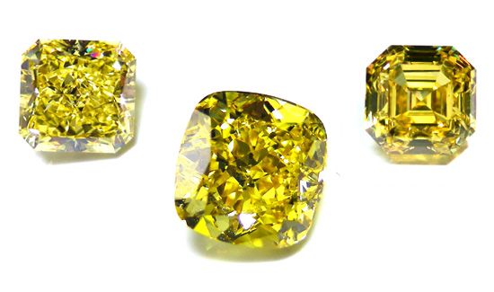Canary Yellow Diamonds